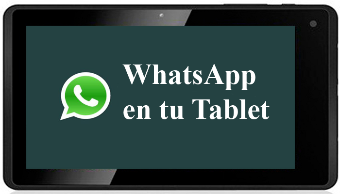 Como instalar whatsapp en tablet android